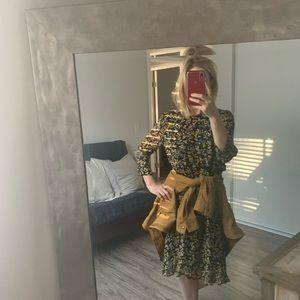 Ganni Dresses - Ganni Marceau Georgette Dress 38 medium